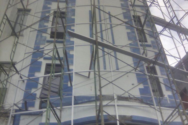 Pemasangan Curtainwall ACP Magelang 0821-3628-8788